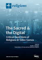 Special issue The Sacred & the Digital. Critical Depictions of Religions in Video Games book cover image
