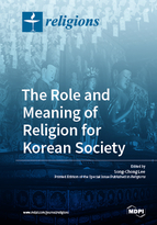 Special issue The Role and Meaning of Religion for Korean Society book cover image
