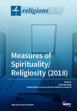 Measures of Spirituality/Religiosity (2018)