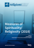 Special issue Measures of Spirituality/Religiosity (2018) book cover image