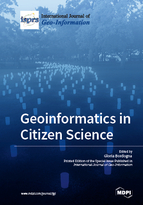 Special issue Geoinformatics in Citizen Science book cover image