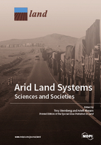 Special issue Arid Land Systems: Sciences and Societies book cover image