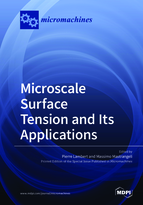 Special issue Microscale Surface Tension and Its Applications book cover image