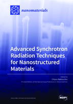 Special issue Advanced Synchrotron Radiation Techniques for Nanostructured Materials book cover image