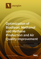 Special issue Optimization of Biodiesel, Methanol and Methane Production and Air Quality Improvement book cover image