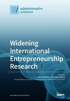 Special issue Widening International Entrepreneurship Research book cover image