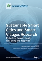 Special issue Sustainable Smart Cities and Smart Villages Research: Rethinking Security, Safety, Well-being and Happiness book cover image