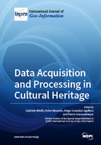 Special issue Data Acquisition and Processing in Cultural Heritage book cover image