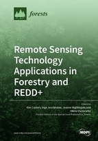 Special issue Remote Sensing Technology Applications in Forestry and REDD+ book cover image