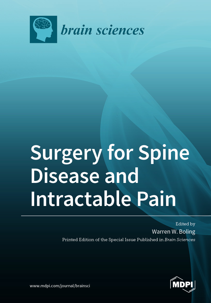 Surgery for Spine Disease and Intractable Pain