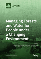 Special issue Managing Forests and Water for People under a Changing Environment book cover image