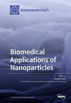 Special issue Biomedical Applications of Nanoparticles book cover image