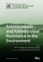 Special issue Antimicrobials and Antimicrobial Resistance in the Environment book cover image