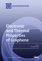 Special issue Electronic and Thermal Properties of Graphene book cover image