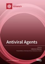 Special issue Antiviral Agents book cover image