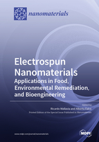 Special issue Electrospun Nanomaterials: Applications in Food, Environmental Remediation, and Bioengineering book cover image