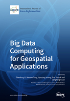 Special issue Big Data Computing for Geospatial Applications book cover image