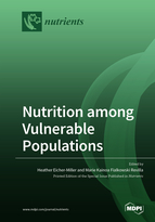 Special issue Nutrition among Vulnerable Populations book cover image