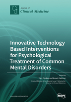 Special issue Innovative Technology Based Interventions for Psychological Treatment of Common Mental Disorders book cover image