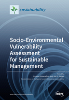 Special issue Socio-Environmental Vulnerability Assessment for Sustainable Management book cover image