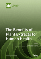 Special issue The Benefits of Plant Extracts for Human Health book cover image
