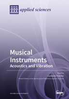 Special issue Musical Instruments: Acoustics and Vibration book cover image
