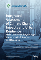 Special issue Integrated Assessment of Climate Change Impacts and Urban Resilience: from Climate and Hydrological Hazards to Risk Analysis and Measures book cover image