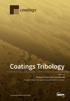 Special issue Coatings Tribology book cover image