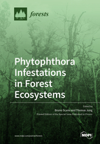 Special issue Phytophthora Infestations in Forest Ecosystems book cover image