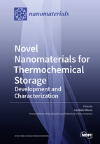Special issue Novel Nanomaterials for Thermochemical Storage: Development and Characterization book cover image
