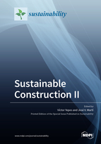 Special issue Sustainable Construction II book cover image