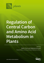 Regulation of Central Carbon and Amino Acid Metabolism in Plants