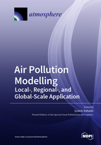 Special issue Air Pollution Modelling: Local-, Regional-, and Global-Scale Application book cover image