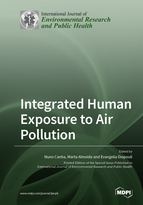 Special issue Integrated human exposure to air pollution book cover image