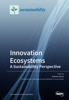 Special issue Innovation Ecosystems: A Sustainability Perspective book cover image