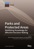 Special issue Parks and Protected Areas: Mobilizing Knowledge for Effective Decision-Making book cover image