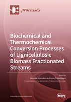 Biochemical and Thermochemical Conversion Processes of Lignicellulosic Biomass Fractionated Streams