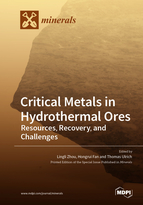 Special issue Critical Metals in Hydrothermal Ores: Resources, Recovery, and Challenges book cover image