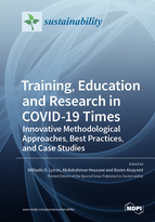 Special issue Training, Education and Research in COVID-19 Times: Innovative Methodological Approaches, Best Practices, and Case Studies book cover image