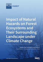 Impact of Natural Hazards on Forest Ecosystems and Their Surrounding Landscape under Climate Change
