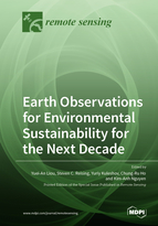 Special issue Earth Observations for Environmental Sustainability for the Next Decade book cover image