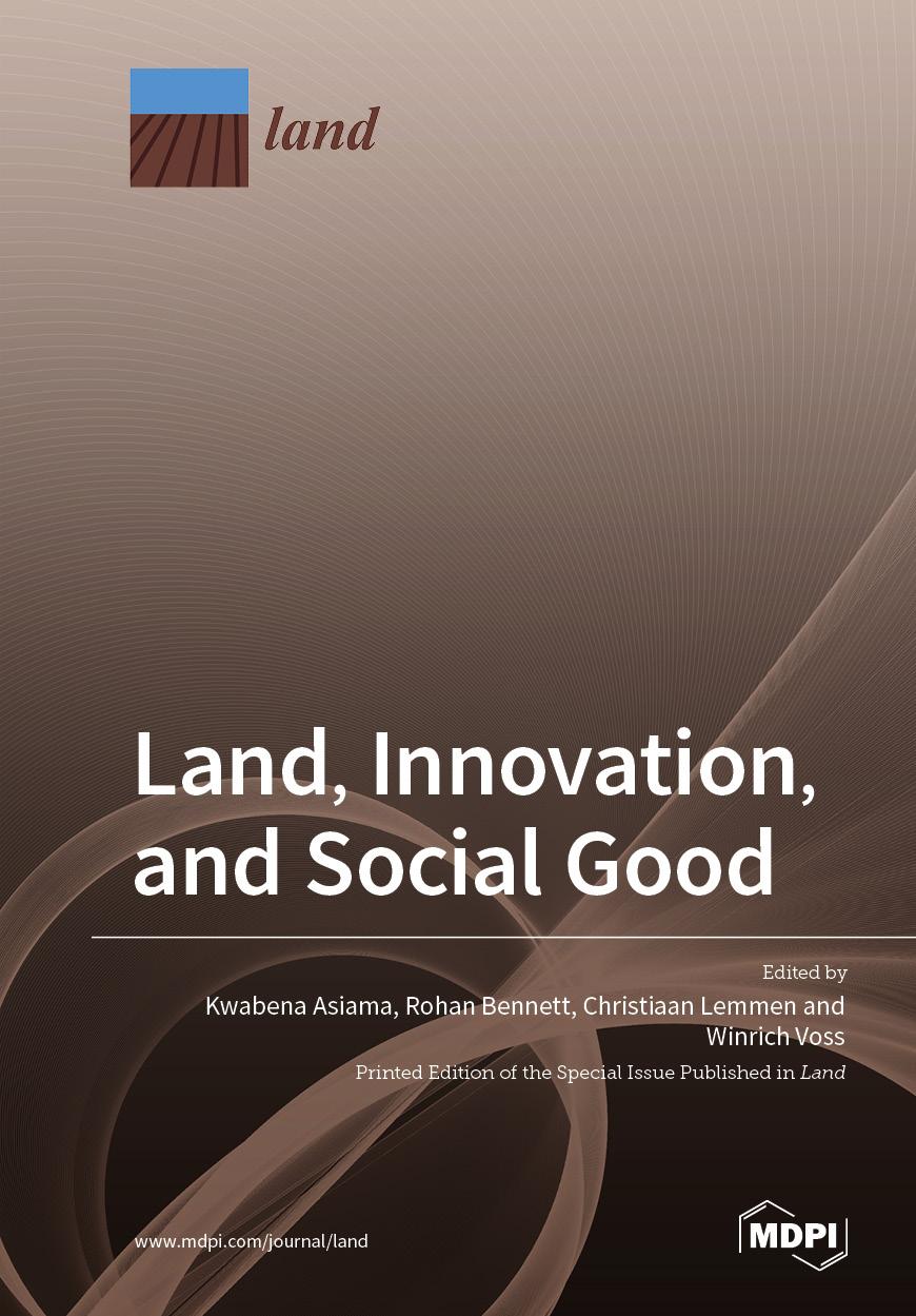 Land, Innovation, and Social Good