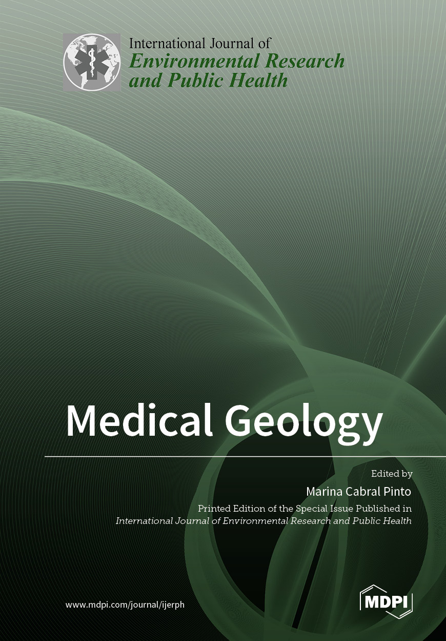 Special issue Medical Geology book cover image