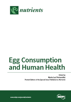 Special issue Egg Consumption and Human Health book cover image