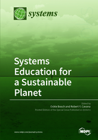 Special issue Systems Education for a Sustainable Planet book cover image