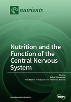 Special issue Nutrition and the Function of the Central Nervous System book cover image