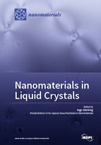 Special issue Nanomaterials in Liquid Crystals book cover image