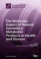 Special issue The Molecular Aspect of Natural Secondary Metabolite Products in Health and Disease book cover image