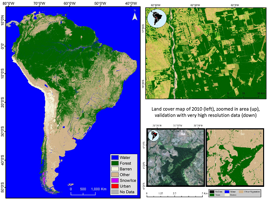 Remote sensing free full text land cover characterization and remote sensing free full text land cover characterization and mapping of south america for the year 2010 using landsat 30 m satellite data html sciox Choice Image