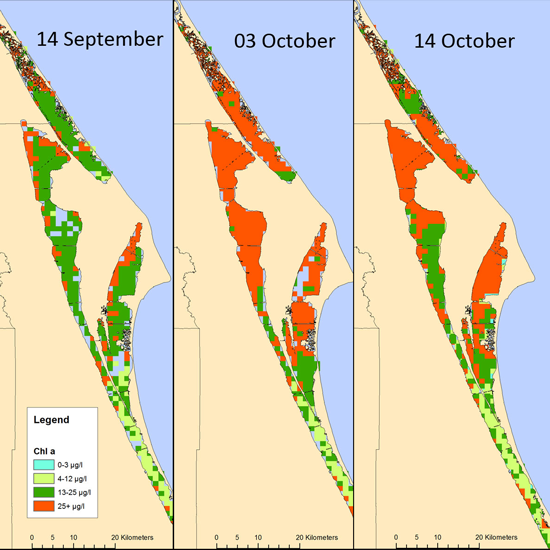 Remote Sensing Free FullText Monitoring Of The Super - Indian river lagoon map